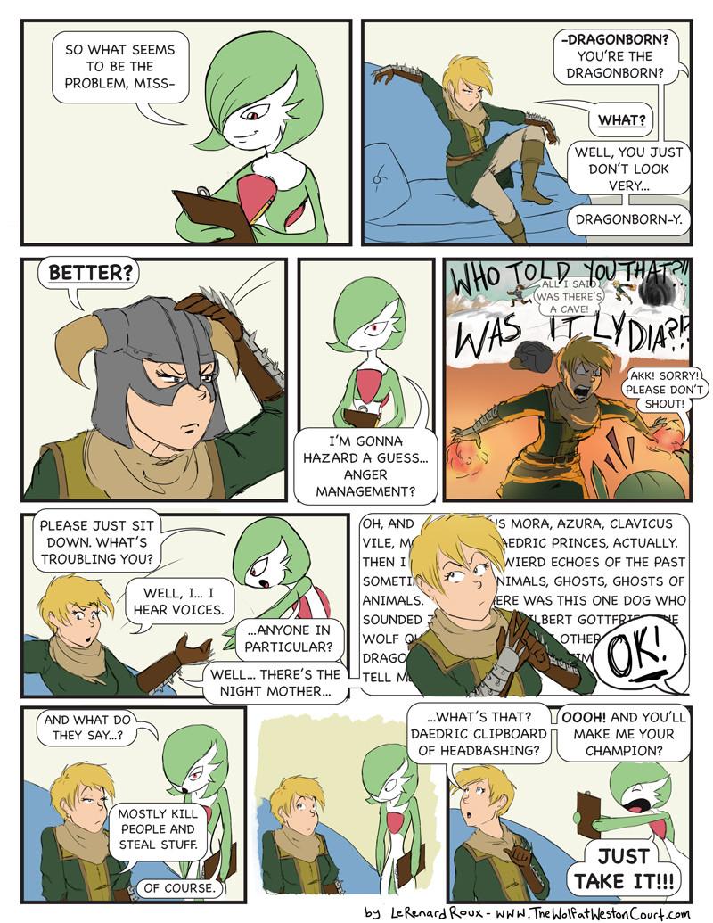 Guest Comic: LeRenardRoux